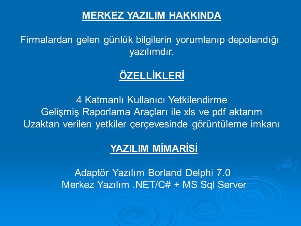 MERKEZ YAZILIM HAKKINDA