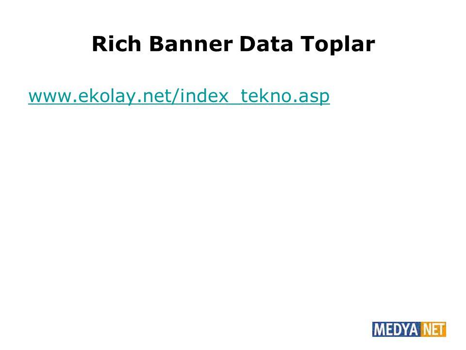 Rich Banner Data Toplar