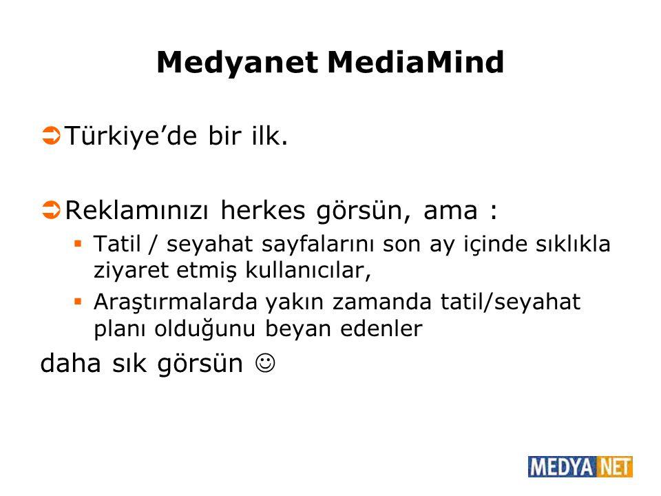 Medyanet MediaMind Türkiye'de bir ilk.