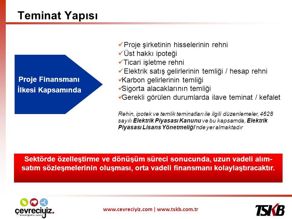 Proje Finansmanı İlkesi Kapsamında