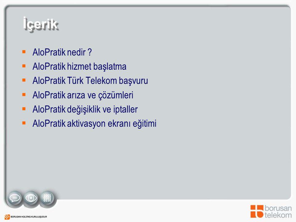 İçerik AloPratik nedir AloPratik hizmet başlatma