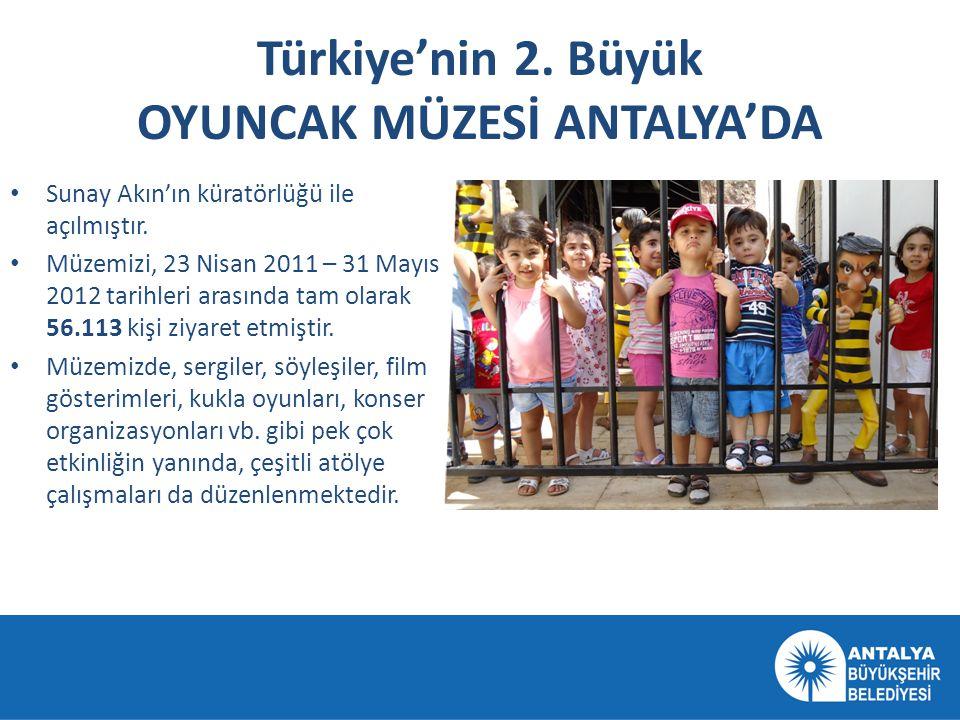 Türkiye'nin 2. Büyük OYUNCAK MÜZESİ ANTALYA'DA