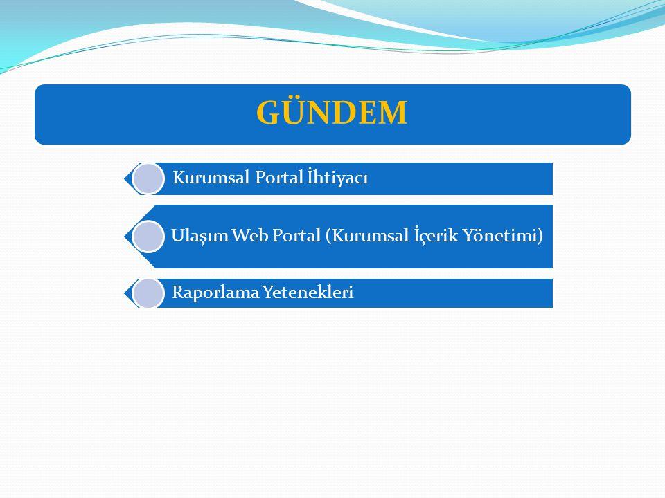 GÜNDEM Kurumsal Portal İhtiyacı