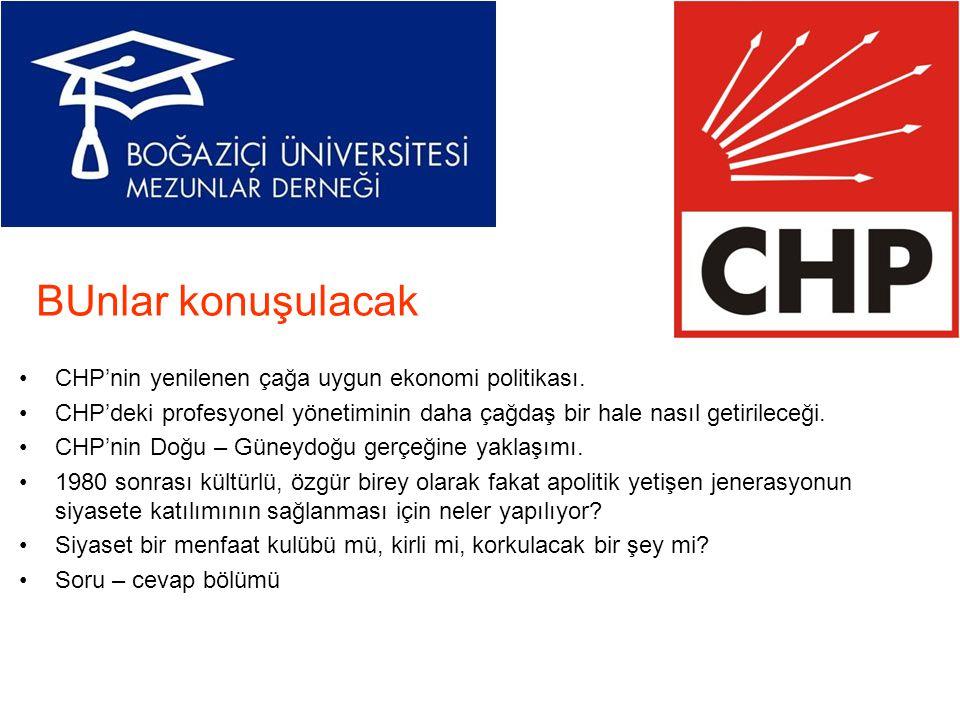 BUnlar konuşulacak CHP'nin yenilenen çağa uygun ekonomi politikası.