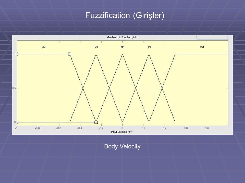 Fuzzification (Girişler)