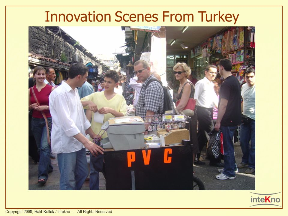 Innovation Scenes From Turkey