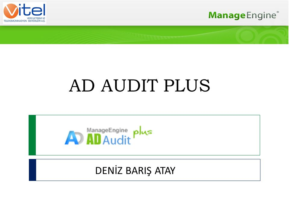 AD AUDIT PLUS DENİZ BARIŞ ATAY