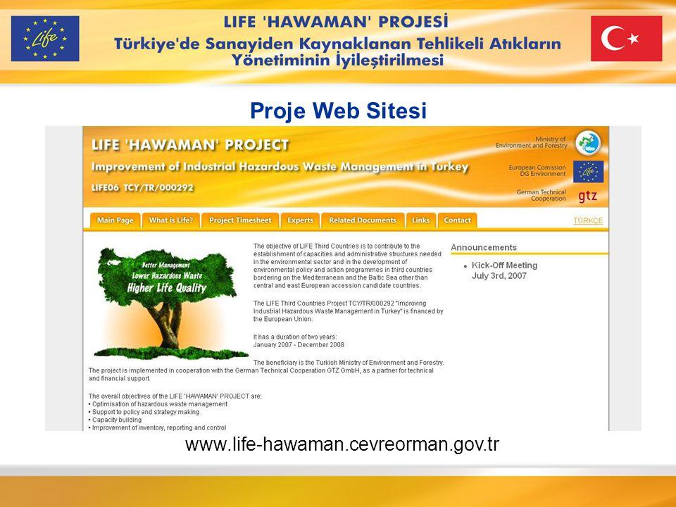 Project Web site Proje Web Sitesi