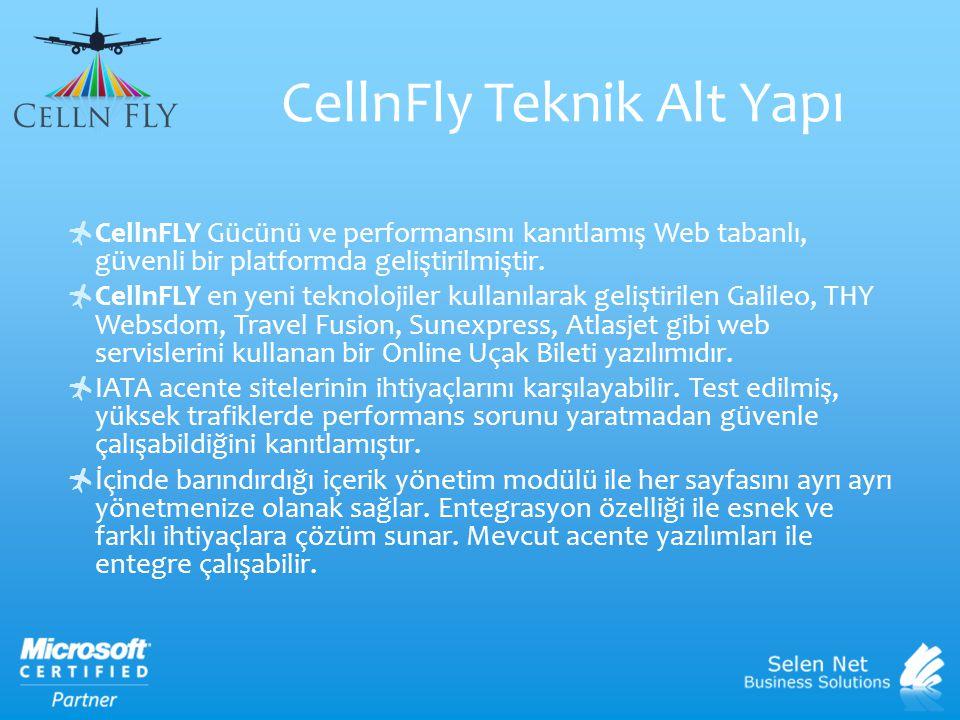 CellnFly Teknik Alt Yapı