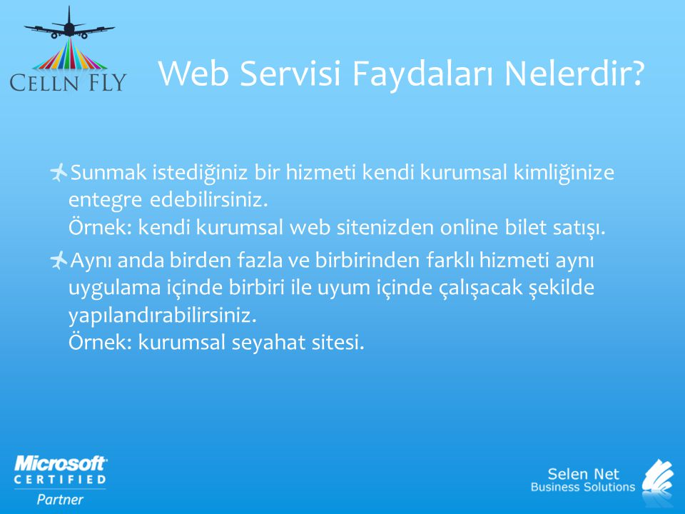 Web Servisi Faydaları Nelerdir