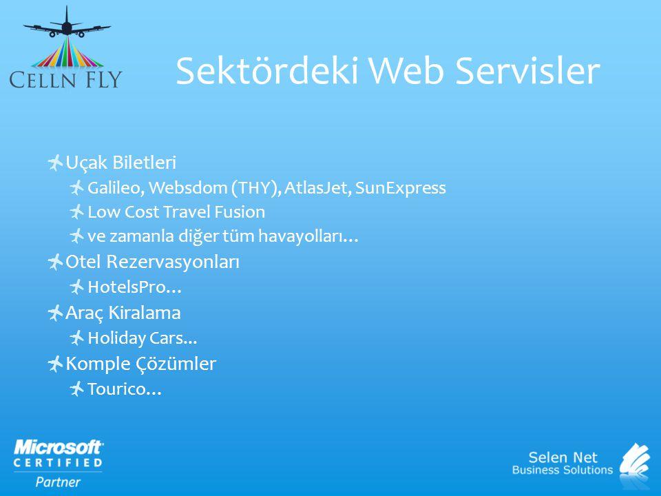 Sektördeki Web Servisler