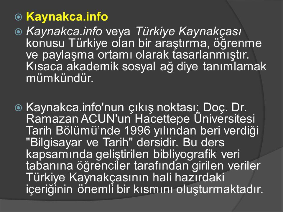 Kaynakca.info