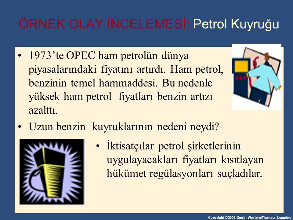 ÖRNEK OLAY İNCELEMESİ: Petrol Kuyruğu