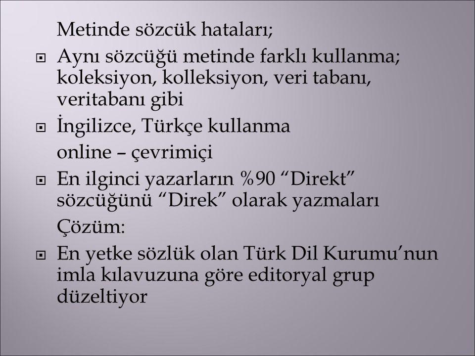 İngilizce, Türkçe kullanma online – çevrimiçi