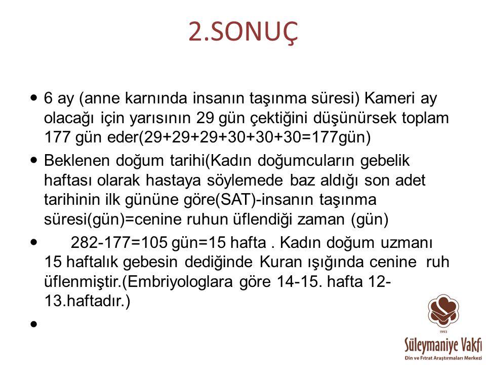 2.SONUÇ