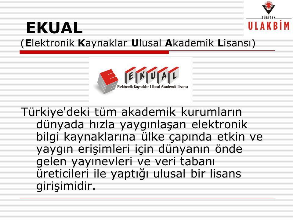 EKUAL (Elektronik Kaynaklar Ulusal Akademik Lisansı)