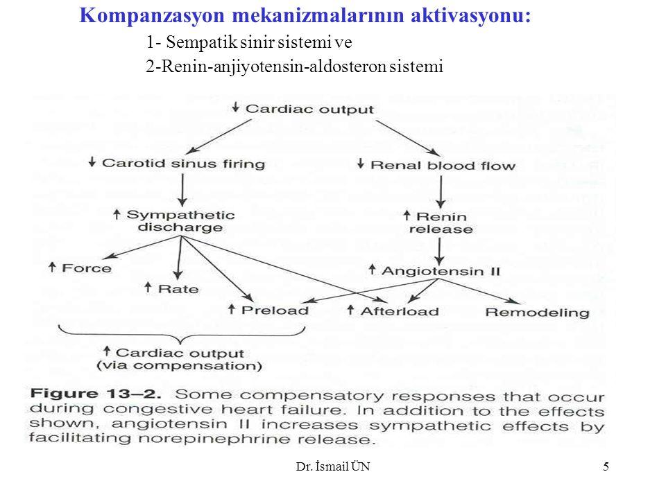Kompanzasyon mekanizmalarının aktivasyonu: