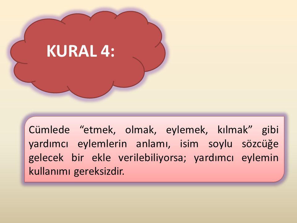KURAL 4: