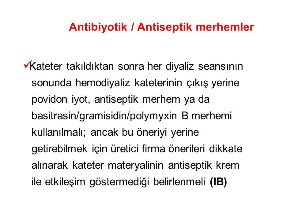 Antibiyotik / Antiseptik merhemler