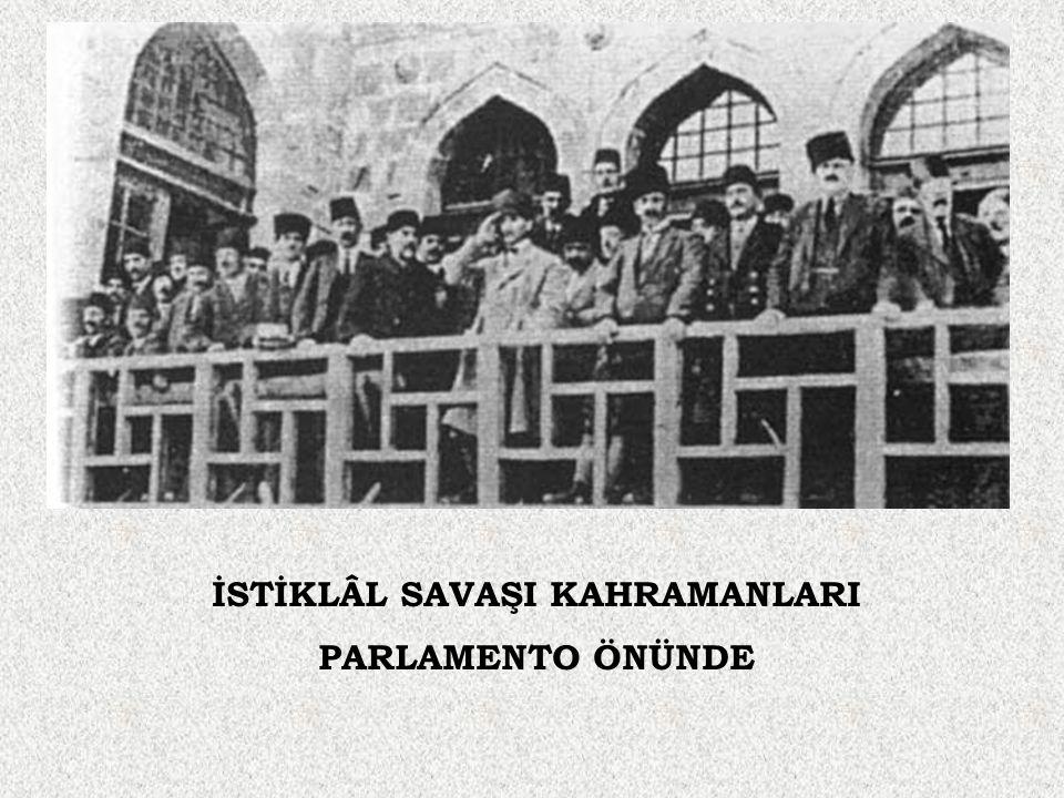 İSTİKLÂL SAVAŞI KAHRAMANLARI