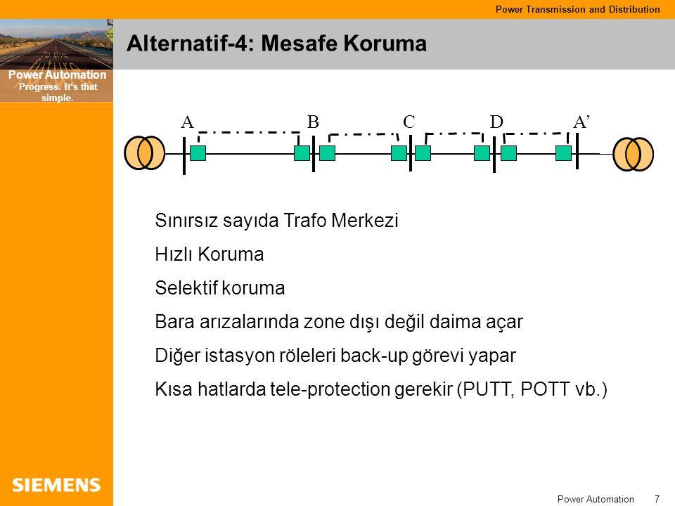 Alternatif-4: Mesafe Koruma