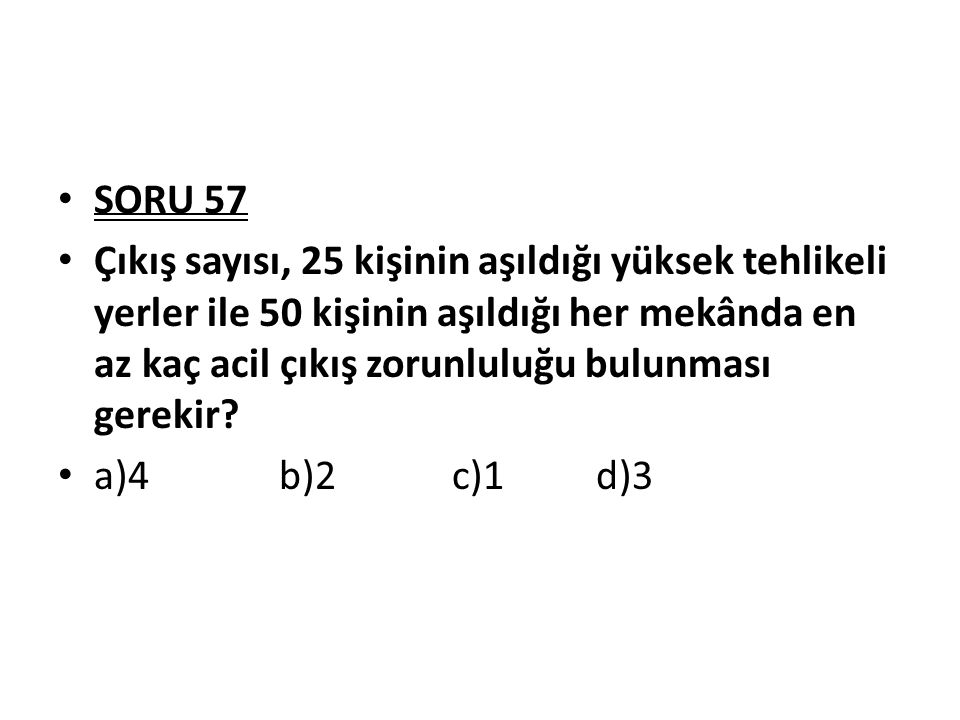 SORU 57