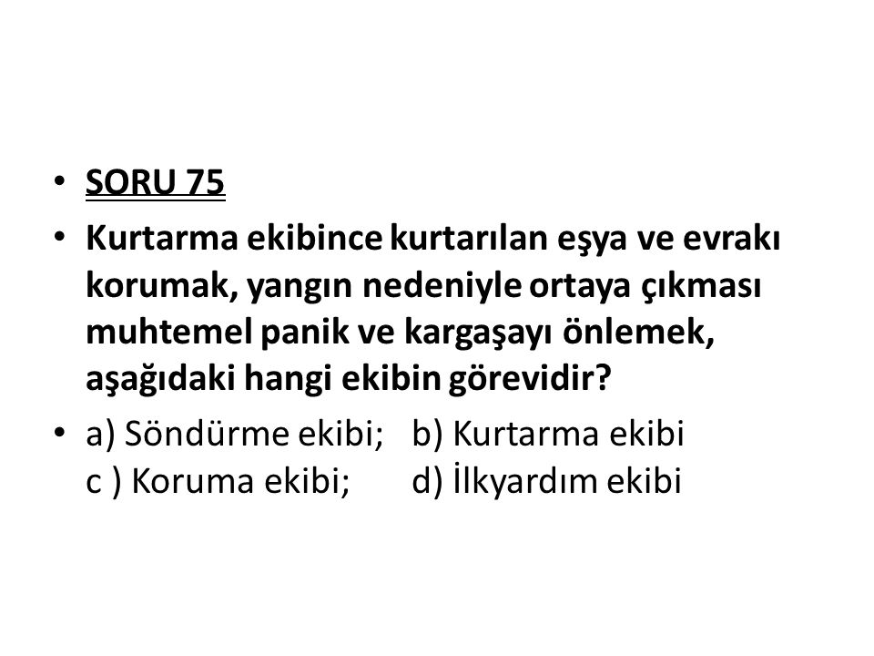 SORU 75