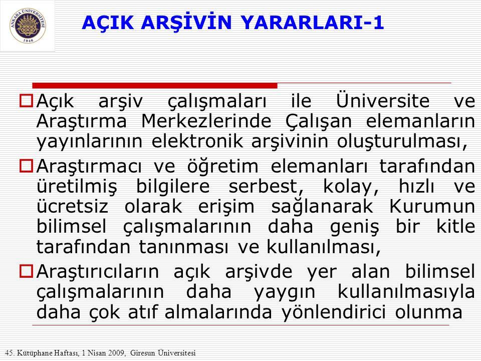 AÇIK ARŞİVİN YARARLARI-1