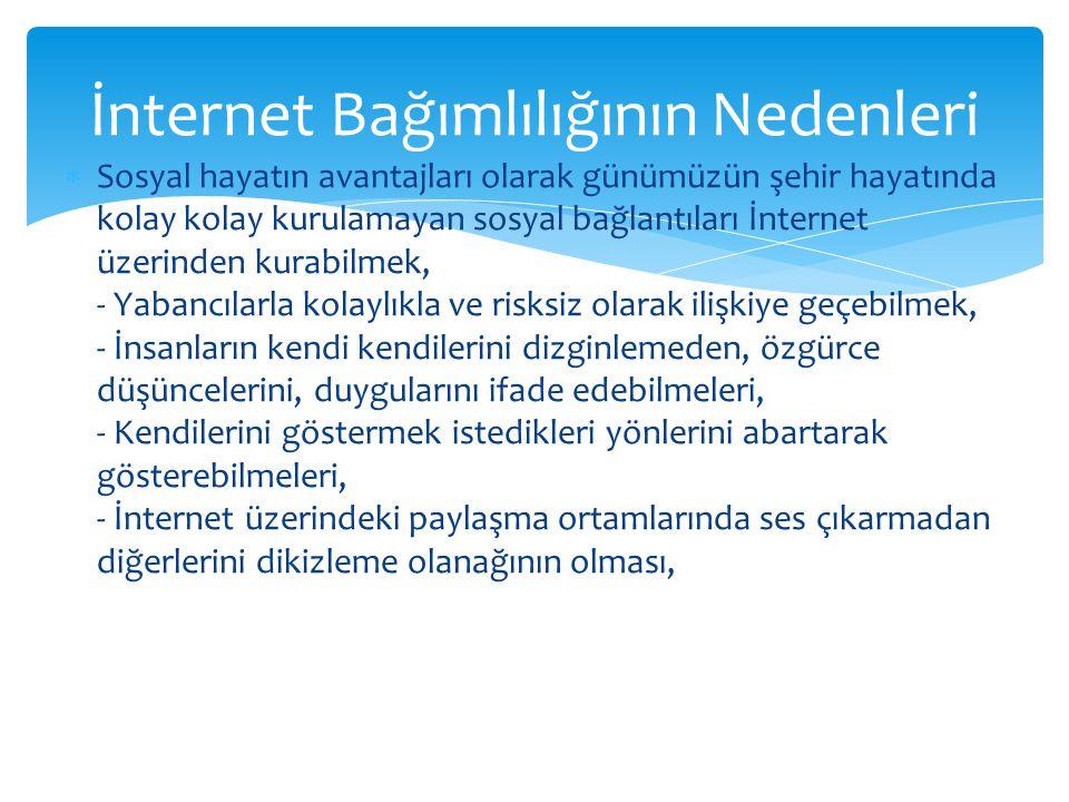 İnternet Bağımlılığının Nedenleri