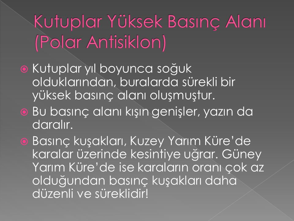Kutuplar Yüksek Basınç Alanı (Polar Antisiklon)
