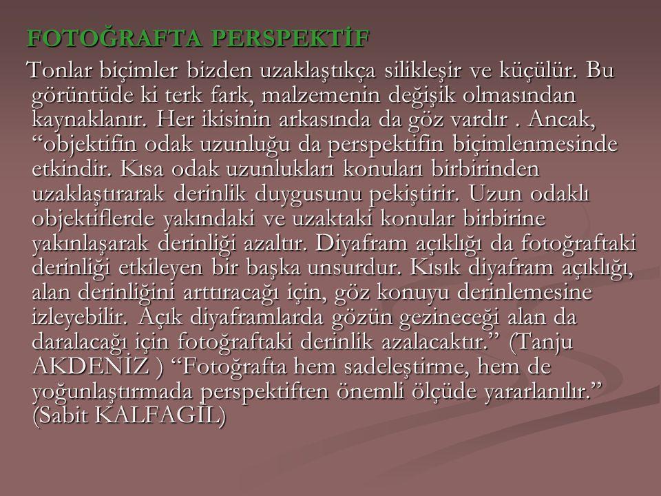 FOTOĞRAFTA PERSPEKTİF