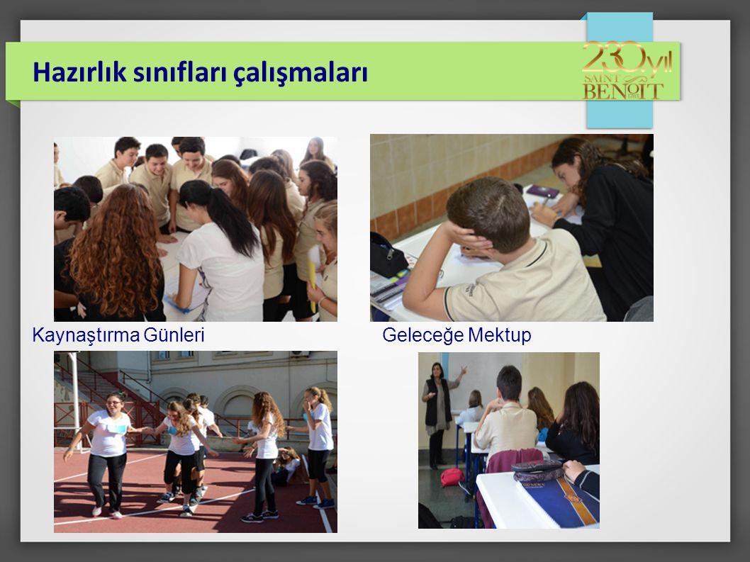 Hazırlık sınıfları çalışmaları