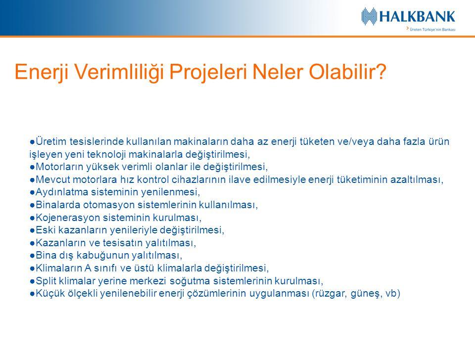 Enerji Verimliliği Projeleri Neler Olabilir