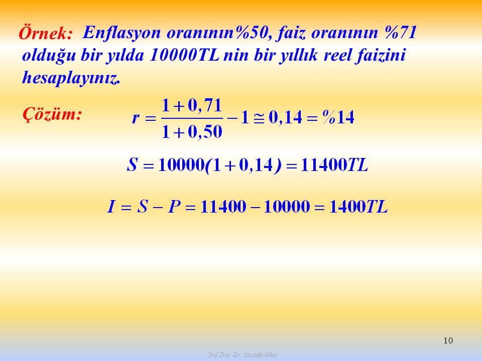 Yrd. Doç. Dr. Mustafa Akkol