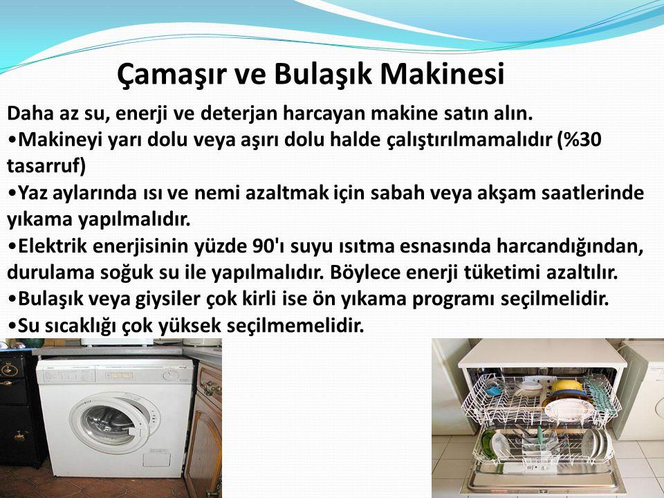 Çamaşır ve Bulaşık Makinesi