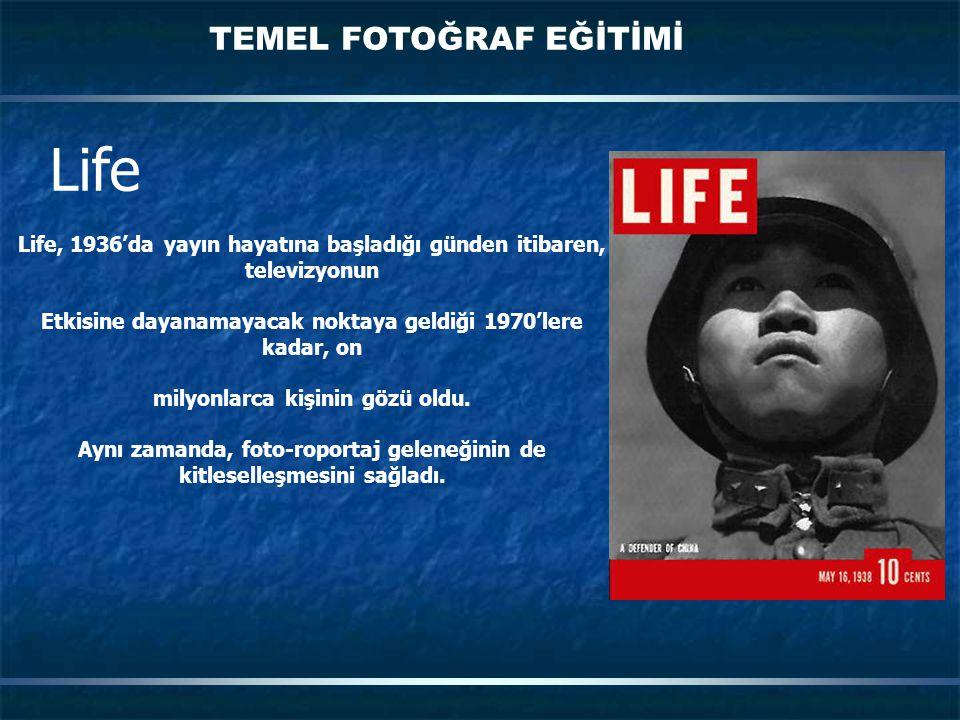 Life TEMEL FOTOĞRAF EĞİTİMİ