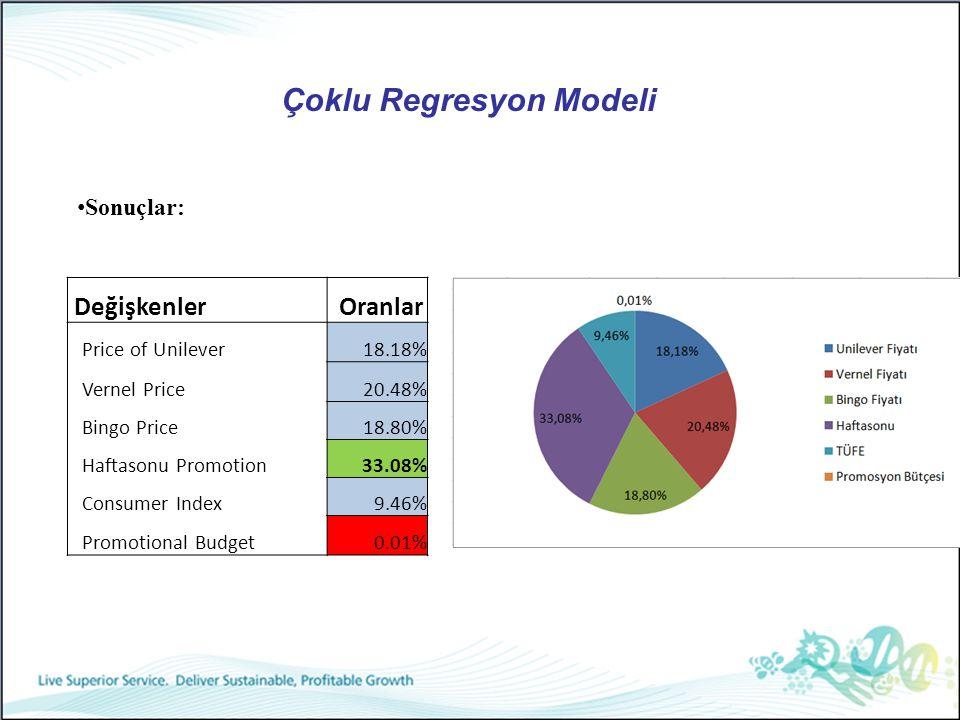 Çoklu Regresyon Modeli