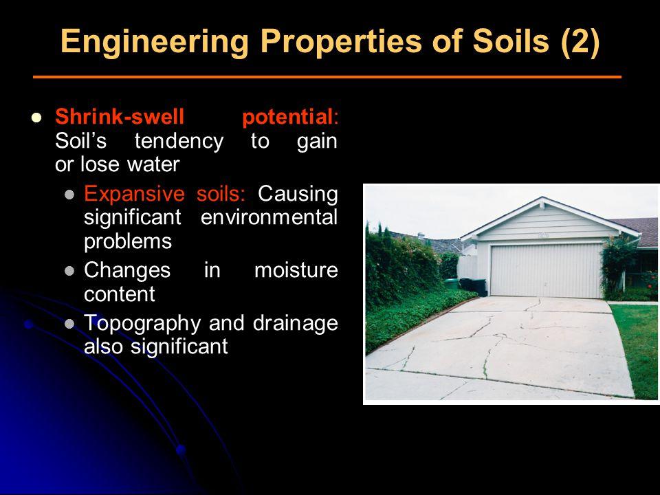 Engineering Properties of Soils (2)