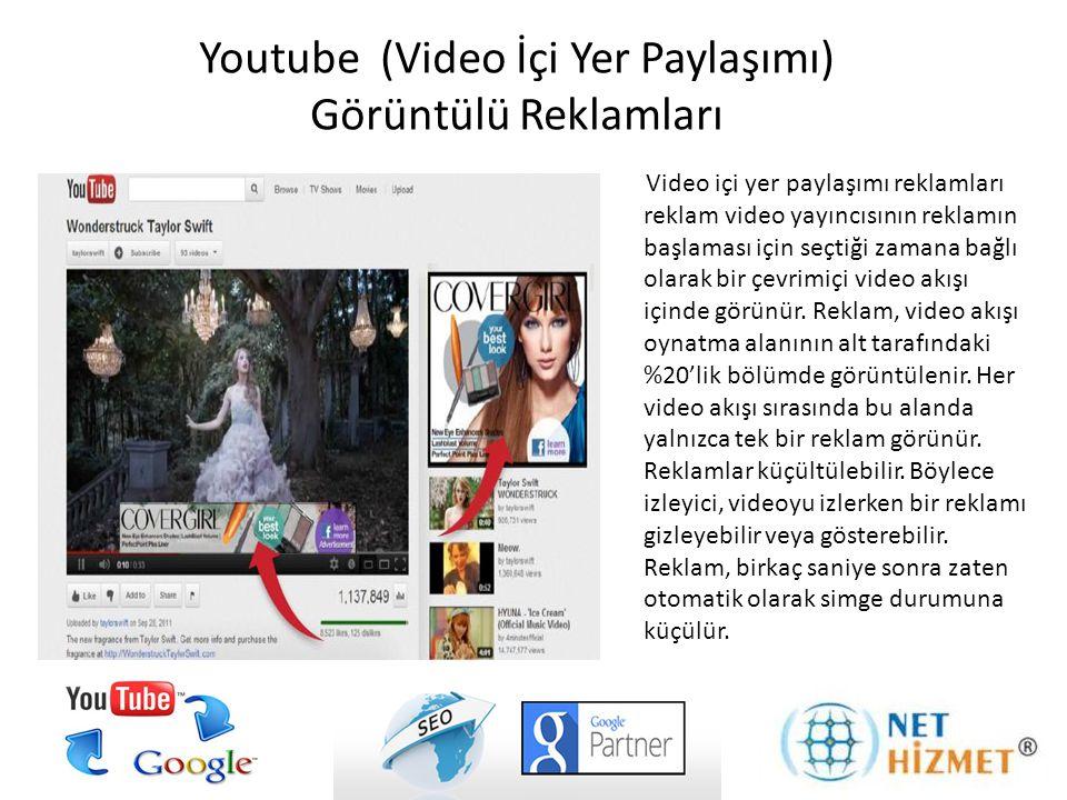 Youtube (Video İçi Yer Paylaşımı) Görüntülü Reklamları
