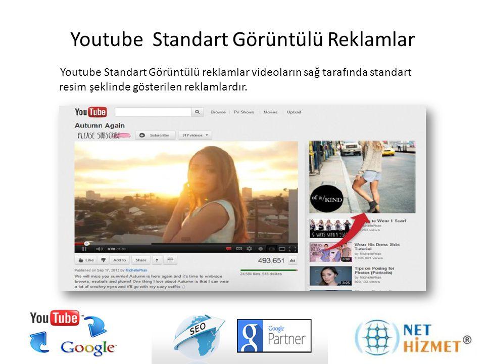 Youtube Standart Görüntülü Reklamlar