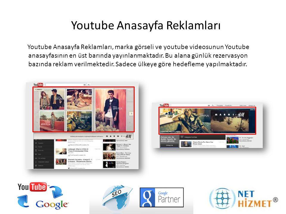 Youtube Anasayfa Reklamları
