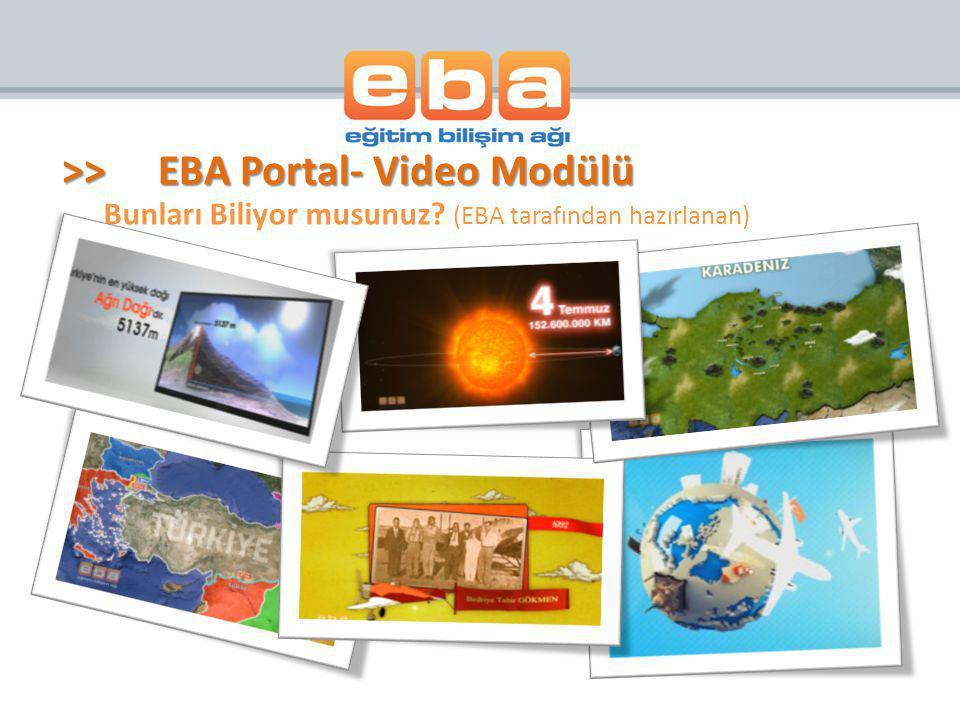Bunları Biliyor musunuz (EBA tarafından hazırlanan)