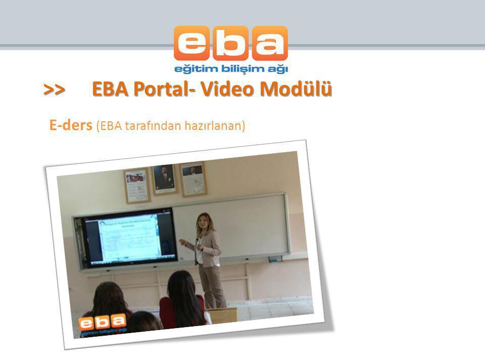 E-ders (EBA tarafından hazırlanan)