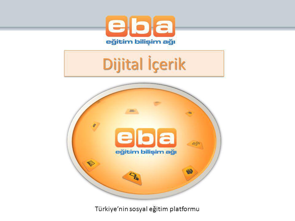 Türkiye'nin sosyal eğitim platformu