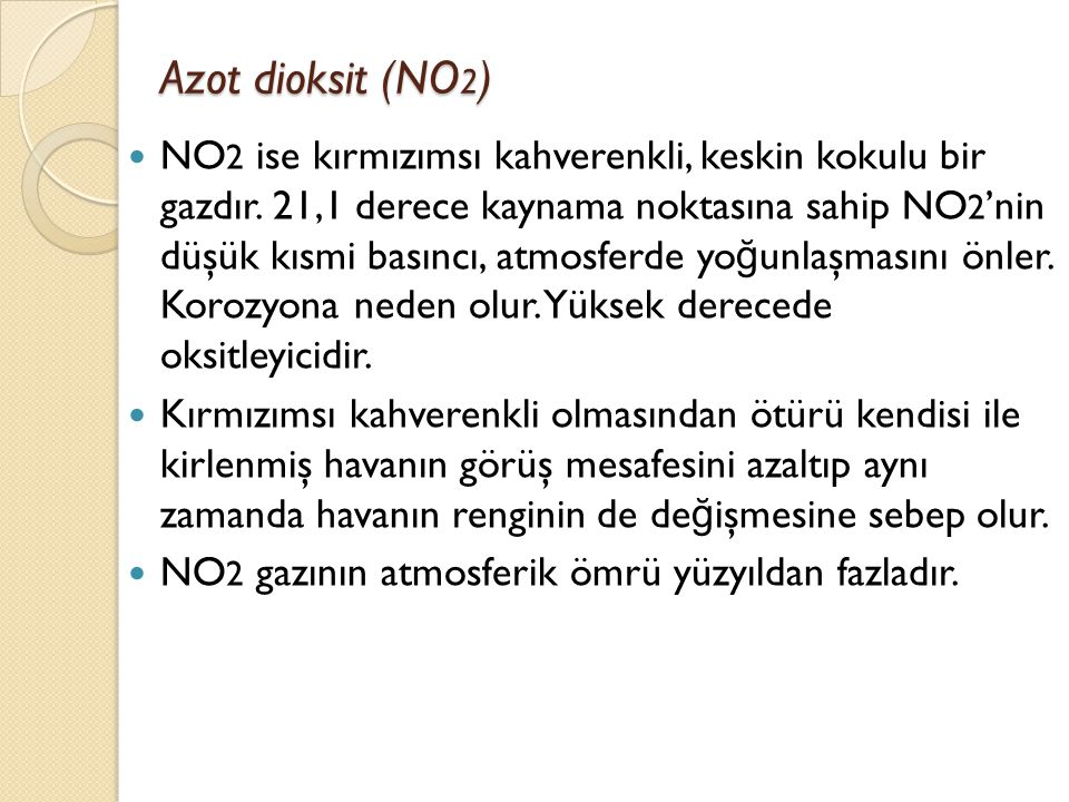 Azot dioksit (NO2)