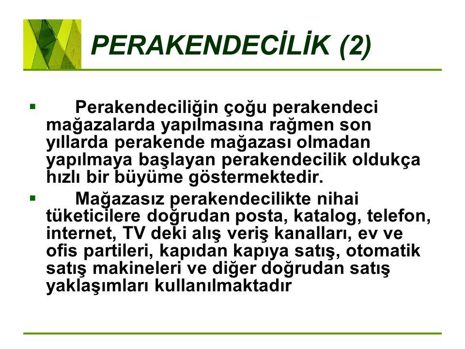 PERAKENDECİLİK (2)