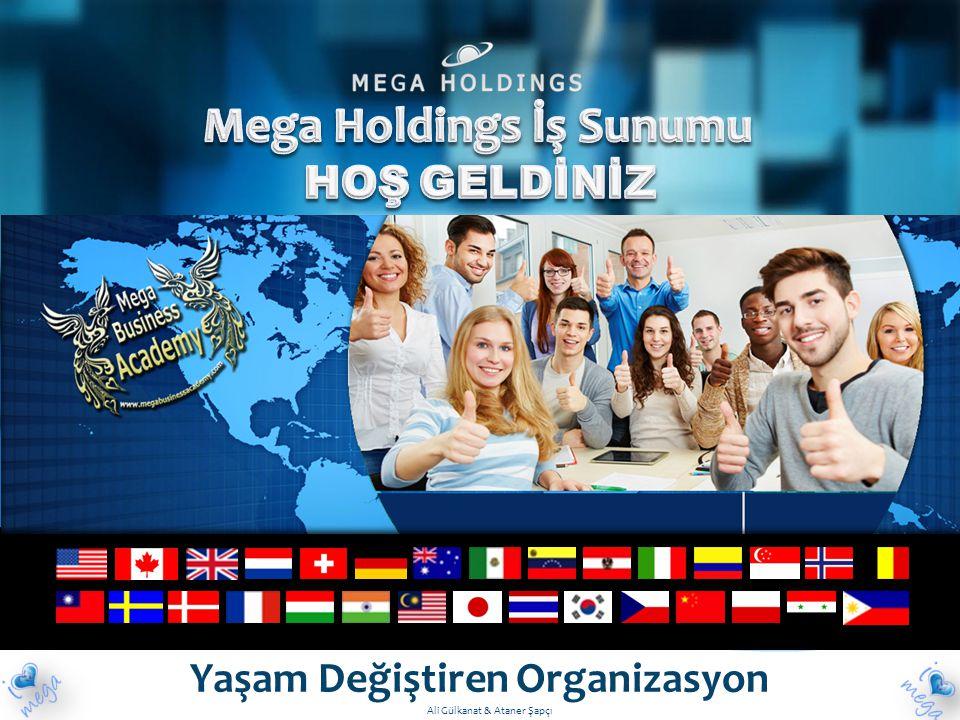 Mega Holdings İş Sunumu Yaşam Değiştiren Organizasyon