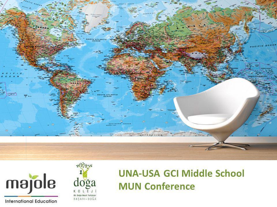 UNA-USA GCI Middle School MUN Conference