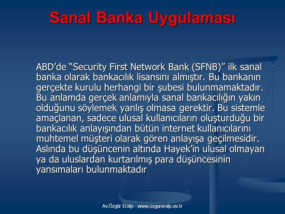 Sanal Banka Uygulaması