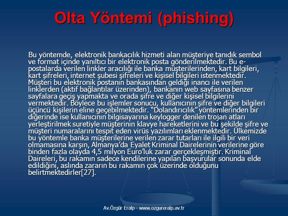 Olta Yöntemi (phishing)